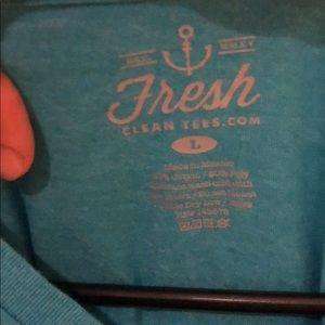 Fresh Clean Tees Shirts - Blue t shirt